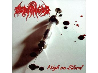 DERANGED - High on blood , CD
