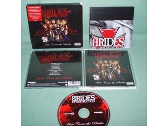 BRIDES of DESTRUCTION - Here come the brides , CD Limited edition 2004 UK , ,