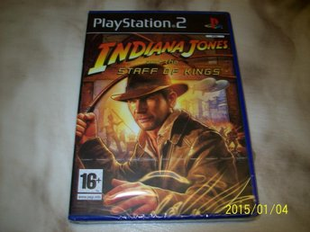 INDIANA JONES AND THE STAFF OF KINGS - NYTT INPLASTAD (PS2)