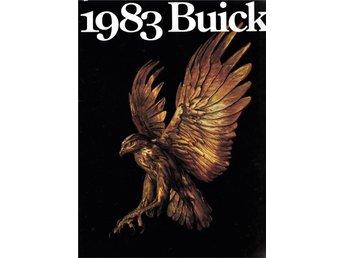 Buick alla modeller 1983 tjock försäljningsbroschyr - Lomma - Buick alla modeller 1983 tjock försäljningsbroschyr - Lomma