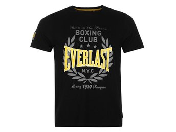EVERLAST BOXING T-SHIRT  SVART    XL