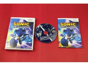 SONIC UNLEASHED till Nintendo Wii