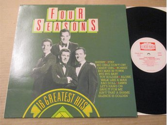 "Four Seasons ""Sherry-16 Greatest Hits"""