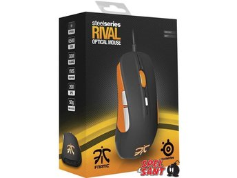 Steelseries Rival Optical Mouse Fnatic Edition - Norrtälje - Steelseries Rival Optical Mouse Fnatic Edition - Norrtälje