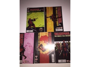 Deadpool & The Mercs for the Money 1-5 Complete (2015) 99sek