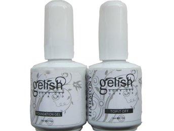 Baslack topplack Gelish gellack 2x15ml=30ml - Urshult - Baslack topplack Gelish gellack 2x15ml=30ml - Urshult