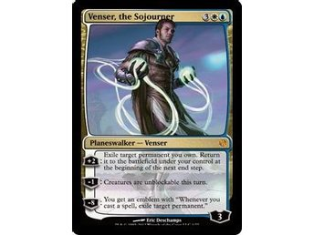 Venser, the Sojourner FOIL - Venser vs Koth - NM/M - English
