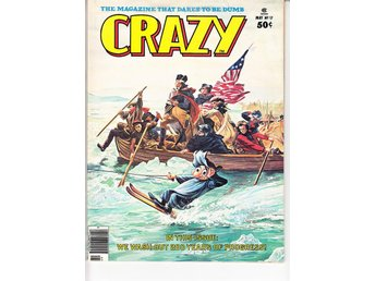 Crazy Magazine nr 17 (1976)  / VF/NM / toppskick