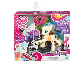 MISS POMMEL EXPLORE EQUESTRIA POSEABLE MY LITTLE PONY