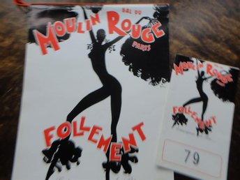 Souvenir Program Moulin Rouge 1976