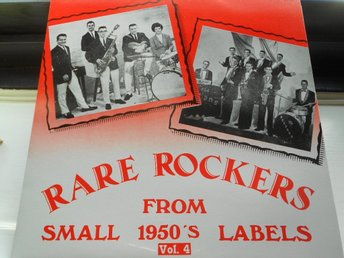 RECORD-SALE SOMMAR-REA! LP RARE ROCKERS FROM SMALL 1950´s LABELS VOL.4