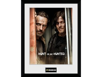 Tavla - TV - The Walking Dead Rick and Daryl