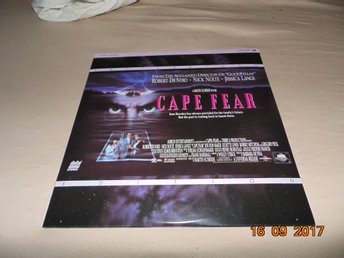 Cape Fear - Letterboxed Edition - 2st Laserdisc