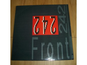FRONT 242 Front by front lp