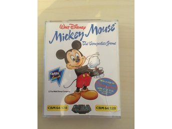 Commodore 64 Spel - Walt Disney Mickey Mouse The Computer Game