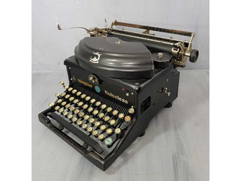 ÄLDRE SKRIVMASKIN REMINGTON NOISELESS   VINTAGE 1900-TAL