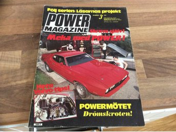 POWER Nr 3 1981 HD Trike,Bel air 57,cheva 65,Ford 32