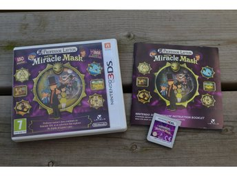 Professor Layton and the Miracle Mask 3DS Nintendo Komplett Fint skick