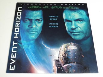 EVENT HORIZON (Laserdisc) Laurence Fishburne