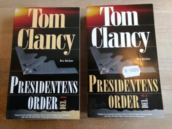 Tom Clancy - PRESIDENTENS ORDER - del 1+2