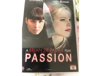 Dvd film Passion med Noomi Rapace