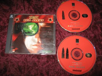 RED ALERT COMMAND & CONQUER (WESTWOOD) 2-DISC PC CD-ROM