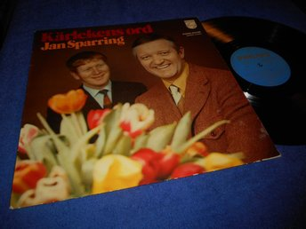 Jan Sparring - Kärlekens ord (LP) Thore Skogman 1971 VG+/VG++