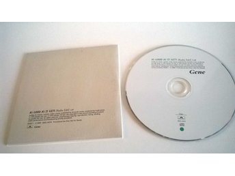Gene - As good as it gets, single CD, promo