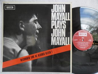 JOHN MAYALL - JOHN MAYALL PLAYS JOHN MAYALL - DECCA LK 4680 - Helsingborg - JOHN MAYALL - JOHN MAYALL PLAYS JOHN MAYALL - DECCA LK 4680 - Helsingborg