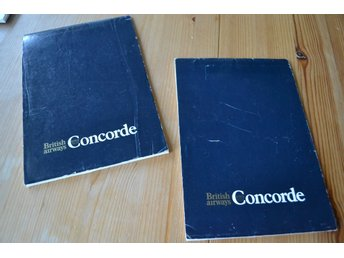 Concorde British Airways anteckningsblock, brevpapper?
