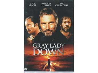 GRAY LADY DOWN (1978) - Charlton Heston, David Carradine - DVD - OOP