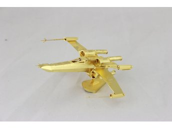 3D Pussel Metall - Star Wars - Starwars - X-Wing GULD