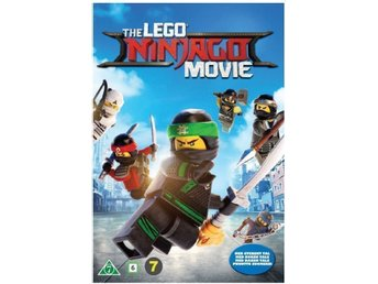 The Lego Ninjago Movie [DVD] Helt Ny / inplastad // svenskt tal och text