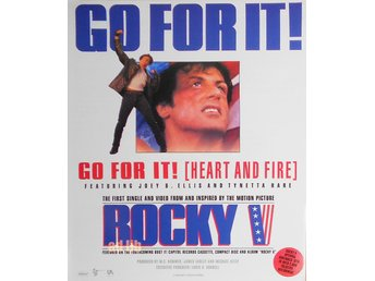 ROCKY V - GO FOR IT, TIDNINGSANNONS 1990