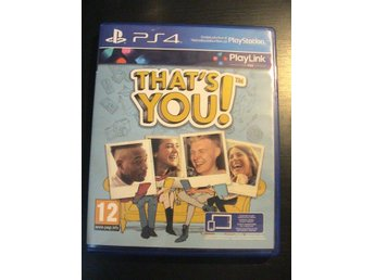 THAT'S YOU! PLAYLINK FRÅGESPEL PÅ SVENSKA / PLAYSTATION 4 PS4 / FINT SKICK