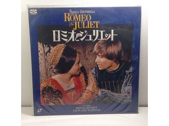 Romeo and Juliet (Leonard Whiting) Laserdisc 2LD B8-22