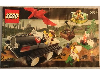 LEGO Adventures 5934 - Manual