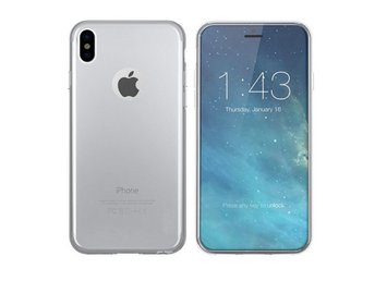 Colorfone Mjukt Exklusivt TPU Skal iPhone Xs Max Transparent 1.2mm