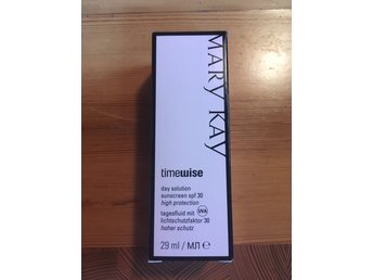 MARY KAY, timewise day solution sunscreen spf 30. NY.