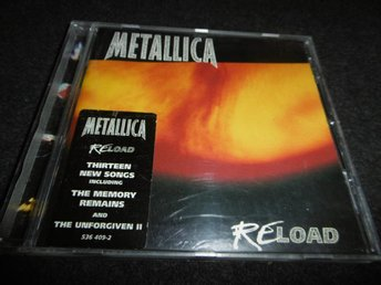 Metallica - Reload - CD - 1997