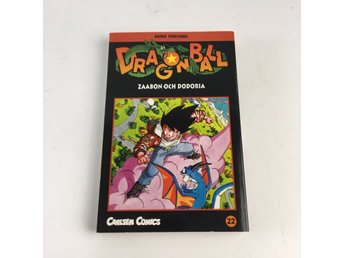 Bok, Dragon Ball 22, Akira Toriyama, Pocket, ISBN: 9789163825101, 2001