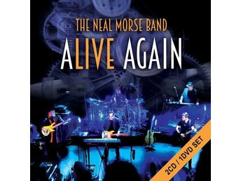 NEAL MORSE BAND-Alive Again-Ny 2 CD+DVD Set-Progressive Rock