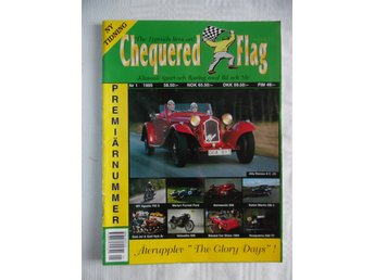 """rally"" Chequered Flag Ny tidning nr 1 1995"