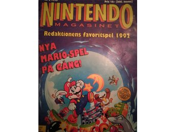 Nintendo Magasinet nr 6 1993
