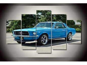 Canvas tavla 5 delad Ford Mustang