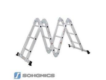 ALU aluminium multifunktions stege 4x3 m / 150 kg / EN131 / NY - Bad Alexandersbad - ALU aluminium multifunktions stege 4x3 m / 150 kg / EN131 / NY - Bad Alexandersbad