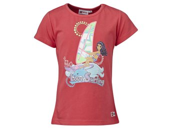 "LEGO FRIENDS T-SHIRT SURFING"" 501465 ROSA-110 Ord pris 199.00:-"