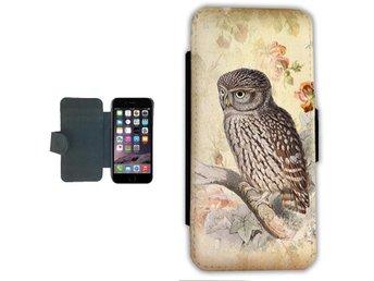 Vintage Uggla iPhone 7 Plånbok / fodral - Markaryd - Vintage Uggla iPhone 7 Plånbok / fodral - Markaryd