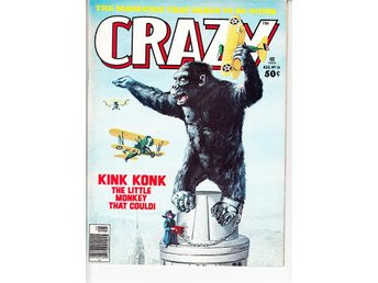 Crazy Magazine nr 19 (1976)  / VF/NM / toppskick