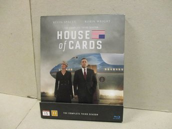 HOUSE OF CARDS (Blu-ray) - SÄSONG 3, (4 DISK) - MKT FINT SKICK! - Stockholm - HOUSE OF CARDS (Blu-ray) - SÄSONG 3, (4 DISK) - MKT FINT SKICK! - Stockholm